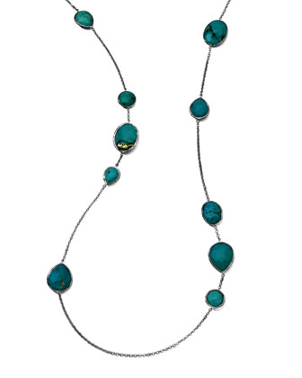 Turquoise Gelato Necklace, 43