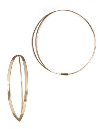 Flirt Hoop Earrings, Small