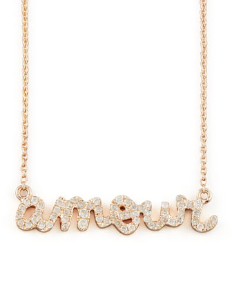 Diamond Amour Necklace