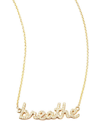 Diamond Breathe Necklace