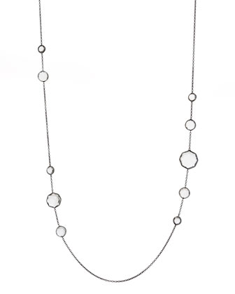 Quartz-Station Necklace