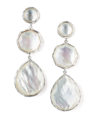 Wonderland Mother-of-Pearl Drop Earrings