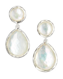 Rock Candy Drop Earrings, Mother-of-Pearl