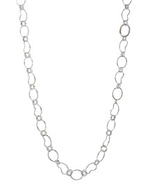 Sterling Silver Kidney-Link Chain