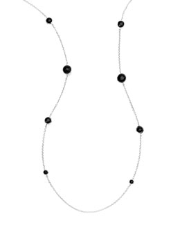 Ippolita Lollipop Onyx Station Necklace