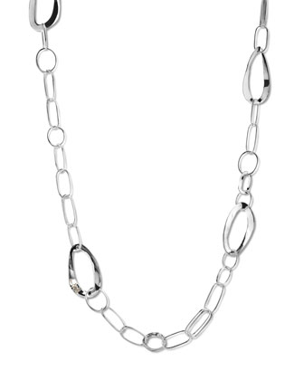 Wavy-Link Chain Necklace, 40
