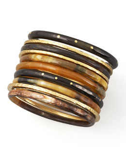 Ashley Pittman Bamba Bangle Set