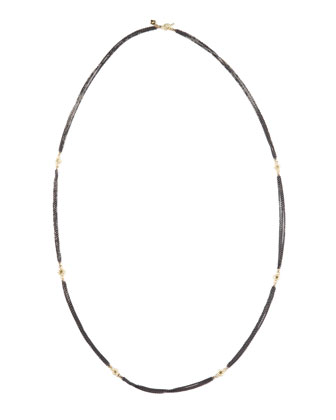 Three-Strand Diamonds By-the-Yard Necklace
