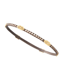Armenta Oxidized Diamond Bracelet