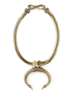 Giles & Brother Tusk Necklace