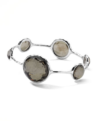 Round Pyrite-Station Wonderland Bangle