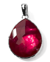 Ippolita Jumbo Raspberry Teardrop Enhancer