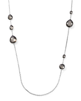 "Ippolita Pyrite Station Necklace, 32""L"
