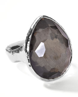 Ippolita Pyrite Teardrop Ring