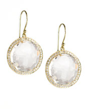 Ippolita Clear Rock Candy Lollipop Earrings