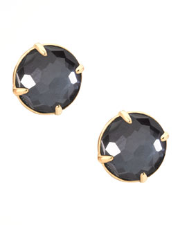 Ippolita Hematite Gelato Stud Earrings