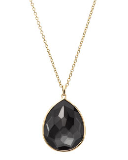 Ippolita Rock Candy Pendant Necklace, Hematite