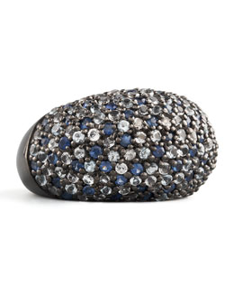 MCL by Matthew Campbell Laurenza Stardust Pave Sapphire Ring, Ice