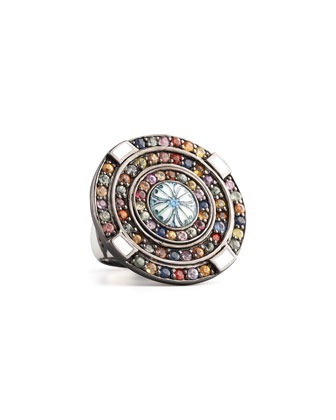 Cornerstone Pave Ring
