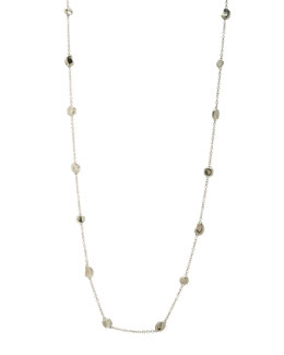 "Ippolita Silver Station Necklace, 37""L"