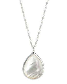 Ippolita Large Teardrop Pendant, Mother-of-Pearl