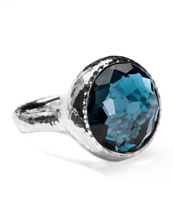 Ippolita Lollipop London Blue Topaz Ring
