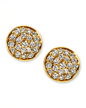 Stardust Mini Diamond Stud Earrings