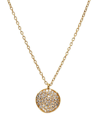 Stardust Diamond Pendant Necklace