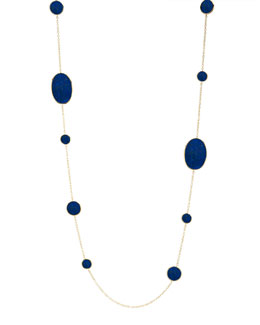Ippolita Rock Candy Lapis Station Necklace
