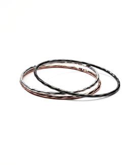 Ippolita Wicked Mixed-Metal Bangles, Set of Three