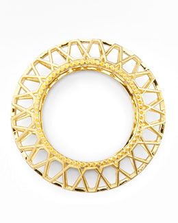 Eddie Borgo Gold-Plated Edie Bangle