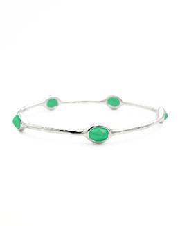 Ippolita Rock Candy Five-Station Bangle, Chrysoprase