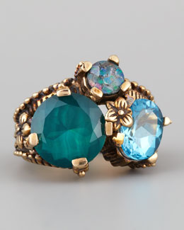 Stephen Dweck Multi-Stone Mosaic Ring
