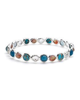 Ippolita Gelato Silver Multi-Stone Bangle