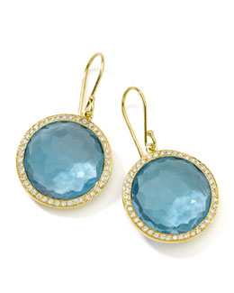 Ippolita Rock Candy Blue Topaz Drop Earrings