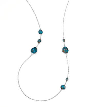 Wonderland Gelato Turquoise Station Necklace