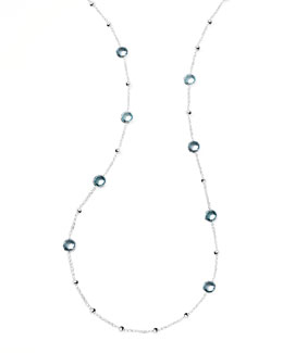 Ippolita Rock Candy Mini Lollipop Topaz Necklace