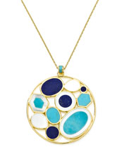 Ippolita Polished Rock Candy Multi-Stone Pendant Necklace
