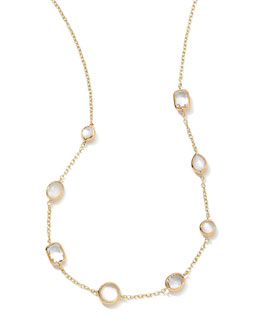 Ippolita 18k Gold Rock Candy Mini Gelato Station Necklace, Flirt