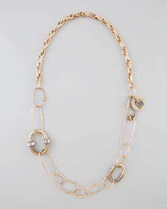Long Golden Chain Necklace/Belt