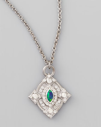 New World Opal & Diamond Cravelli Necklace