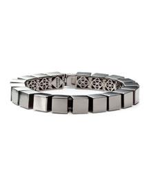 Small Cube Bracelet, Gunmetal