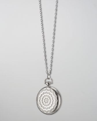 Pocketwatch Locket Necklace