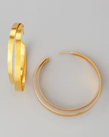 Ruban Small Hoop Earrings