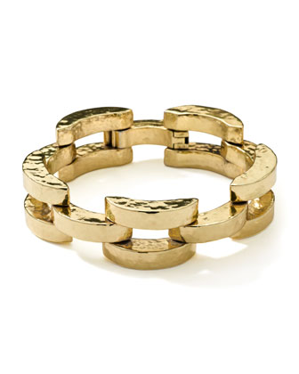 18K Gold Glamazon Smooth Arch Bracelet