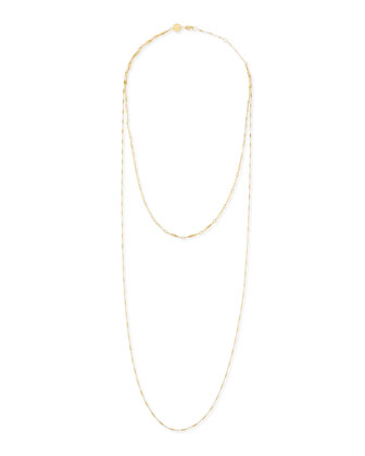 Double Layered Gold Vermeil Necklace