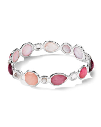 Sterling Silver Wonderland Mini Hero Bangle, Rio