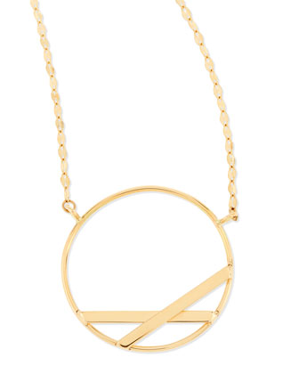 14k Small Affinity Pendant Necklace