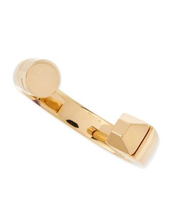 18k Vermeil Le 2 Clous Cuff Bracelet