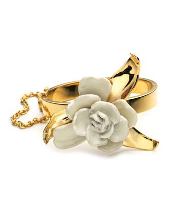 Gardenia Bracelet Cuff